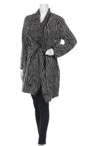 Дамско палто Trussardi Jeans, Размер M, Цвят Бял, 40% памук, 28% акрил, 20% вълна, 12% полиестер, Цена 161,37лв.