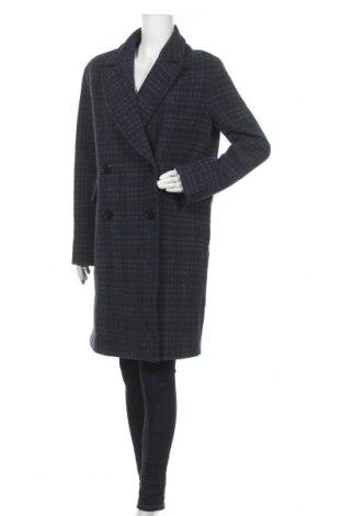 Дамско палто Trussardi Jeans, Размер L, Цвят Син, 55% памук, 26% полиестер, 14% вълна, 3% ацетат, 2% други тъкани, Цена 161,37лв.