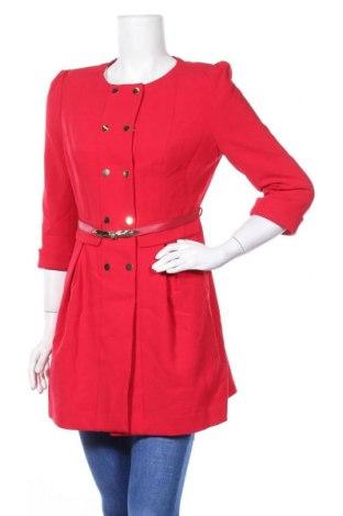 Дамско палто Vero Moda, Размер S, Цвят Червен, Цена 46,20лв.