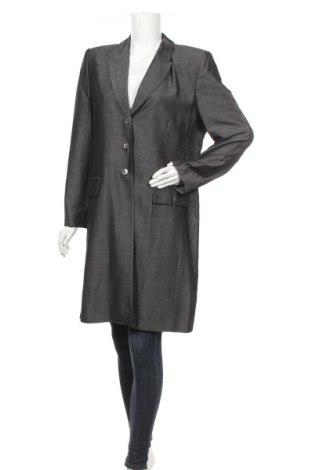 Дамско палто Windsmoor, Размер L, Цвят Сив, 85% вискоза, 15% мохер, Цена 50,40лв.