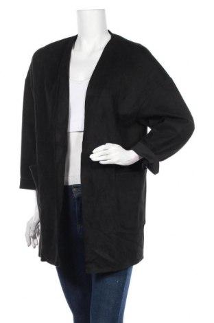 Дамско палто Zara, Размер XS, Цвят Черен, Цена 11,81лв.