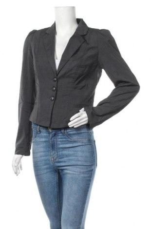 Дамско сако Hot Options, Размер M, Цвят Сив, Полиестер, вискоза, еластан, Цена 3,00лв.