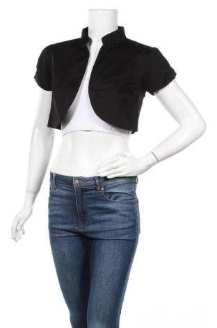 Дамско сако 17 & Co., Размер S, Цвят Черен, 97% памук, 3% еластан, Цена 6,83лв.
