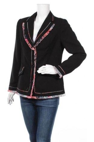 Дамско сако Alfredo Pauly, Размер M, Цвят Черен, Полиестер, Цена 5,10лв.