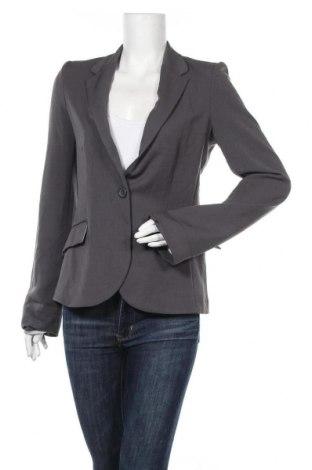 Γυναικείο σακάκι Ambiance Apparel, Μέγεθος M, Χρώμα Γκρί, 75% πολυεστέρας, 20% βισκόζη, 5% ελαστάνη, Τιμή 6,37€