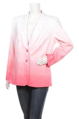 Дамско сако Anne L., Размер XL, Цвят Бял, 47% памук, 48% полиестер, 5% еластан, Цена 24,36лв.