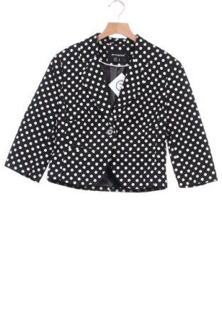Γυναικείο σακάκι Atmosphere, Μέγεθος XS, Χρώμα Μαύρο, 97% βαμβάκι, 3% ελαστάνη, Τιμή 11,95€