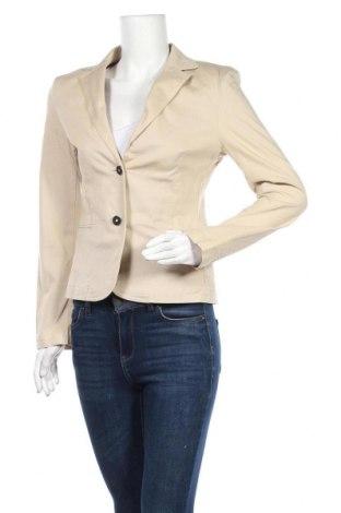 Дамско сако Camomilla, Размер S, Цвят Бежов, 97% памук, 3% еластан, Цена 6,04лв.