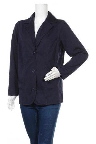 Γυναικείο σακάκι Collection L, Μέγεθος XL, Χρώμα Μπλέ, 65% πολυεστέρας, 35% βαμβάκι, Τιμή 9,35€