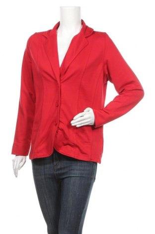 Дамско сако Collection L, Размер M, Цвят Червен, 65% полиестер, 35% памук, Цена 12,08лв.