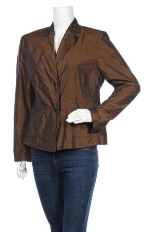 Γυναικείο σακάκι Dino Moda, Μέγεθος XL, Χρώμα Καφέ, Πολυεστέρας, Τιμή 6,14€