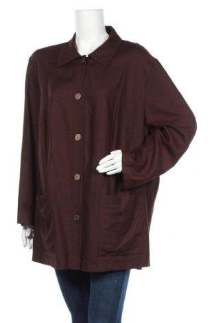 Дамско сако Fabiani, Размер XXL, Цвят Кафяв, 85% вискоза, 15% лен, Цена 9,45лв.