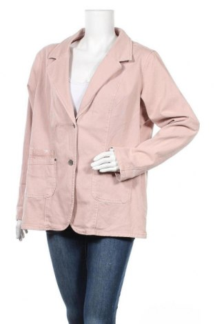 Γυναικείο σακάκι Gina Benotti, Μέγεθος XXL, Χρώμα Ρόζ , 98% βαμβάκι, 2% ελαστάνη, Τιμή 13,45€