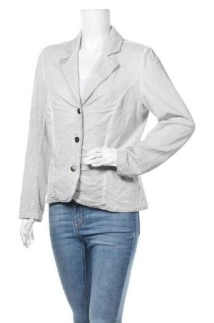 Γυναικείο σακάκι Gina Laura, Μέγεθος L, Χρώμα Γκρί, 95% βαμβάκι, 5% ελαστάνη, Τιμή 3,00€