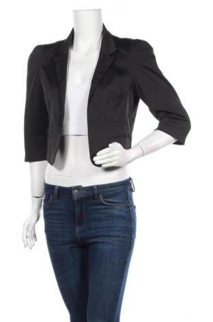 Дамско сако Glassons, Размер M, Цвят Черен, 65% памук, 32% полиестер, 3% еластан, Цена 6,28лв.