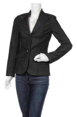 Дамско сако Hennes, Размер M, Цвят Черен, 65% памук, 33% полиестер, 2% еластан, Цена 6,56лв.