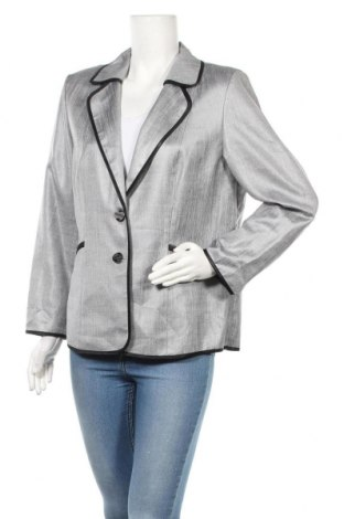 Дамско сако Hermann Lange, Размер XL, Цвят Сив, 100% полиестер, Цена 7,35лв.