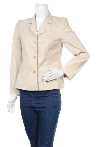 Дамско сако Hirsch, Размер S, Цвят Бежов, 54% памук, 40% полиестер, 6% еластан, Цена 12,76лв.