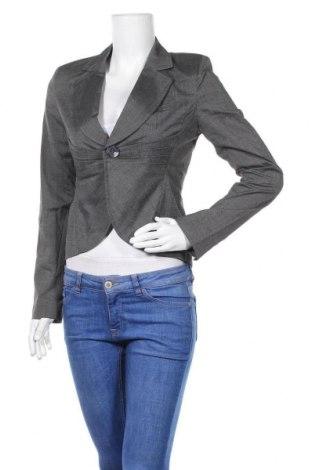 Дамско сако Hot Options, Размер S, Цвят Сив, Полиестер, вискоза, еластан, Цена 22,31лв.