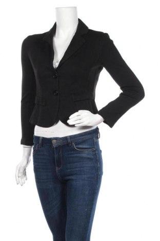 Дамско сако Imperial, Размер XS, Цвят Черен, 69% вискоза, 4% еластан, 27% полиамид, Цена 6,76лв.