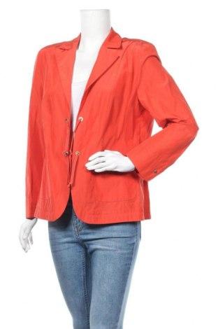 Дамско сако Laura Lebek, Размер XL, Цвят Червен, 51% полиестер, 49% памук, Цена 9,45лв.
