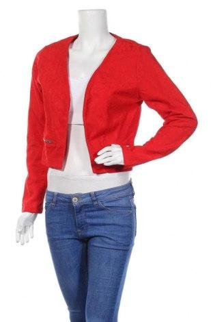 Γυναικείο σακάκι Lesara, Μέγεθος L, Χρώμα Κόκκινο, Πολυεστέρας, Τιμή 5,90€