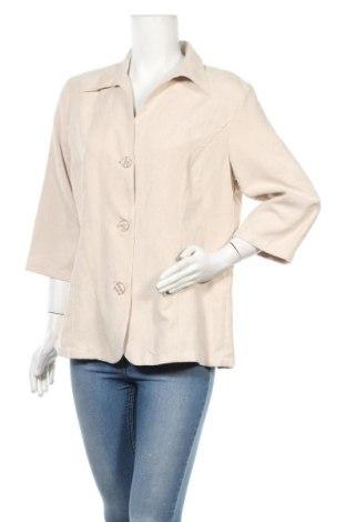 Γυναικείο σακάκι Malva, Μέγεθος L, Χρώμα  Μπέζ, 100% πολυεστέρας, Τιμή 3,91€