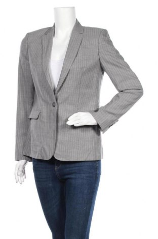 Γυναικείο σακάκι Massimo Dutti, Μέγεθος M, Χρώμα Γκρί, 55% ασετάτ, 45% βισκόζη, Τιμή 11,28€
