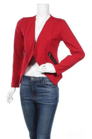 Дамско сако Milly, Размер M, Цвят Червен, 95% полиестер, 5% еластан, Цена 26,46лв.