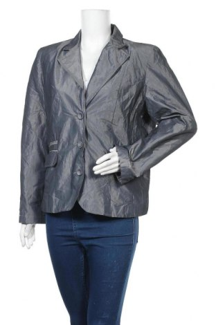 Γυναικείο σακάκι One Touch, Μέγεθος XL, Χρώμα Γκρί, Πολυεστέρας, Τιμή 5,46€