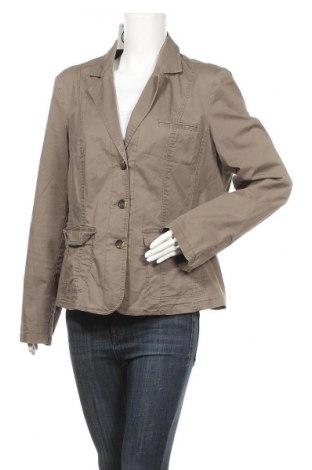 Γυναικείο σακάκι One Touch, Μέγεθος XL, Χρώμα Καφέ, 97% βαμβάκι, 3% ελαστάνη, Τιμή 5,91€