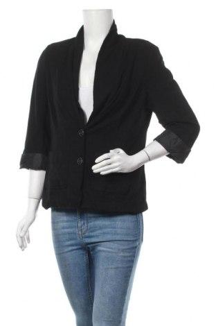 Дамско сако Reitmans, Размер L, Цвят Черен, 95% вискоза, 5% еластан, Цена 16,38лв.