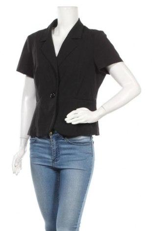 Дамско сако Reitmans, Размер XL, Цвят Черен, 63% полиестер, 34% вискоза, 3% еластан, Цена 17,75лв.
