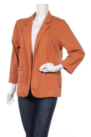 Дамско сако Sass, Размер XL, Цвят Оранжев, Памук, полиестер, еластан, Цена 5,80лв.
