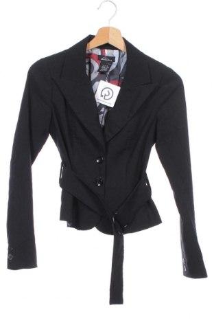 Γυναικείο σακάκι Seductions, Μέγεθος XS, Χρώμα Μαύρο, 78% πολυεστέρας, 17% βισκόζη, 5% ελαστάνη, Τιμή 9,65€