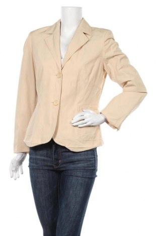 Γυναικείο σακάκι Staccato, Μέγεθος M, Χρώμα  Μπέζ, 50% βαμβάκι, 50% πολυεστέρας, Τιμή 5,46€