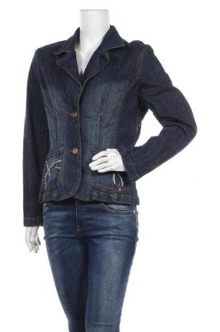 Дамско сако Steve Ketell, Размер L, Цвят Син, 98% памук, 2% еластан, Цена 10,40лв.