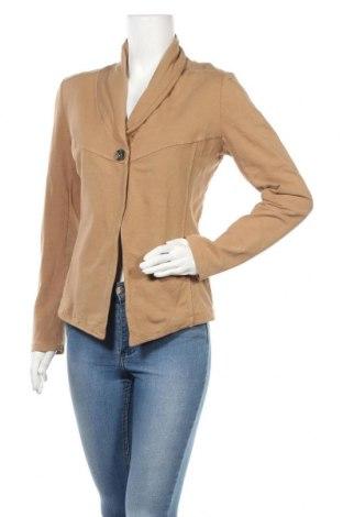 Γυναικείο σακάκι Susy Mix, Μέγεθος M, Χρώμα  Μπέζ, 95% βαμβάκι, 5% ελαστάνη, Τιμή 5,23€