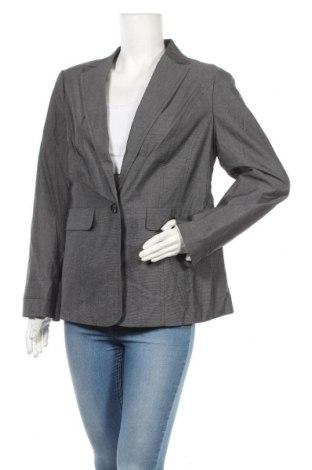 Γυναικείο σακάκι Suzanne Grae, Μέγεθος M, Χρώμα Γκρί, Βαμβάκι, Τιμή 23,38€