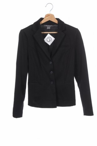 Γυναικείο σακάκι Suzy Shier, Μέγεθος XS, Χρώμα Μαύρο, 76% πολυεστέρας, 20% βισκόζη, 4% ελαστάνη, Τιμή 5,46€