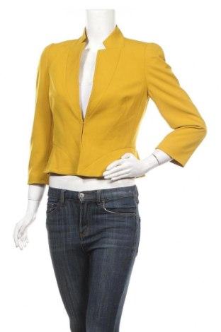Γυναικείο σακάκι Tahari By Arthur S. Levine, Μέγεθος S, Χρώμα Κίτρινο, 63% πολυεστέρας, 33% βισκόζη, 4% ελαστάνη, Τιμή 28,06€