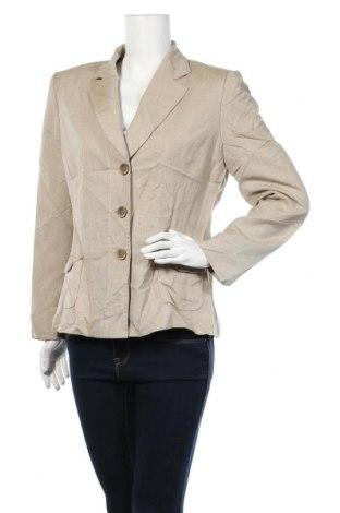 Γυναικείο σακάκι Tahari By Arthur S. Levine, Μέγεθος M, Χρώμα  Μπέζ, 70% βισκόζη, 30% πολυεστέρας, Τιμή 8,41€