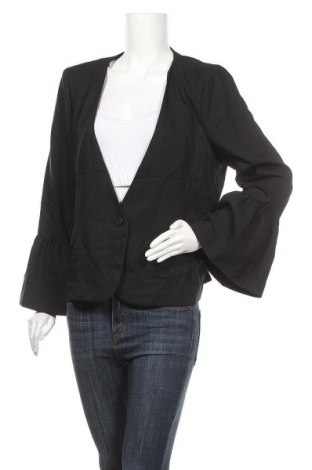 Дамско сако Tokito, Размер XL, Цвят Черен, Полиестер, Цена 17,33лв.