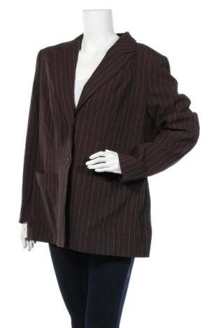 Дамско сако Trend, Размер XL, Цвят Кафяв, 97% полиестер, 3% вискоза, Цена 12,29лв.