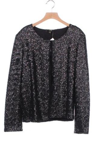 Γυναικείο σακάκι Un Deux Trois, Μέγεθος XS, Χρώμα Μαύρο, 90% πολυαμίδη, 10% ελαστάνη, Τιμή 8,41€