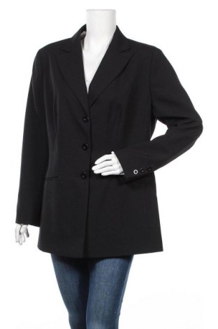 Дамско сако Vivien Caron, Размер XL, Цвят Черен, Полиестер, Цена 10,29лв.