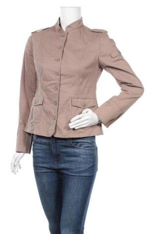 Дамско сако Woman's Fashion, Размер M, Цвят Бежов, 98% памук, 2% еластан, Цена 13,65лв.