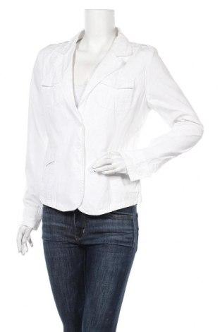 Дамско сако X-Mail, Размер M, Цвят Бял, Памук, Цена 15,70лв.