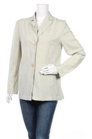 Γυναικείο σακάκι Yorn, Μέγεθος M, Χρώμα  Μπέζ, 45% βισκόζη, 30% λινό, 25% πολυεστέρας, Τιμή 5,68€