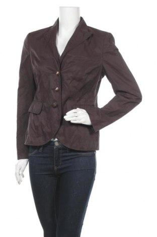 Γυναικείο σακάκι Yorn, Μέγεθος M, Χρώμα Καφέ, 55% βαμβάκι, 38% πολυαμίδη, 7% μεταλλικά νήματα, Τιμή 5,68€
